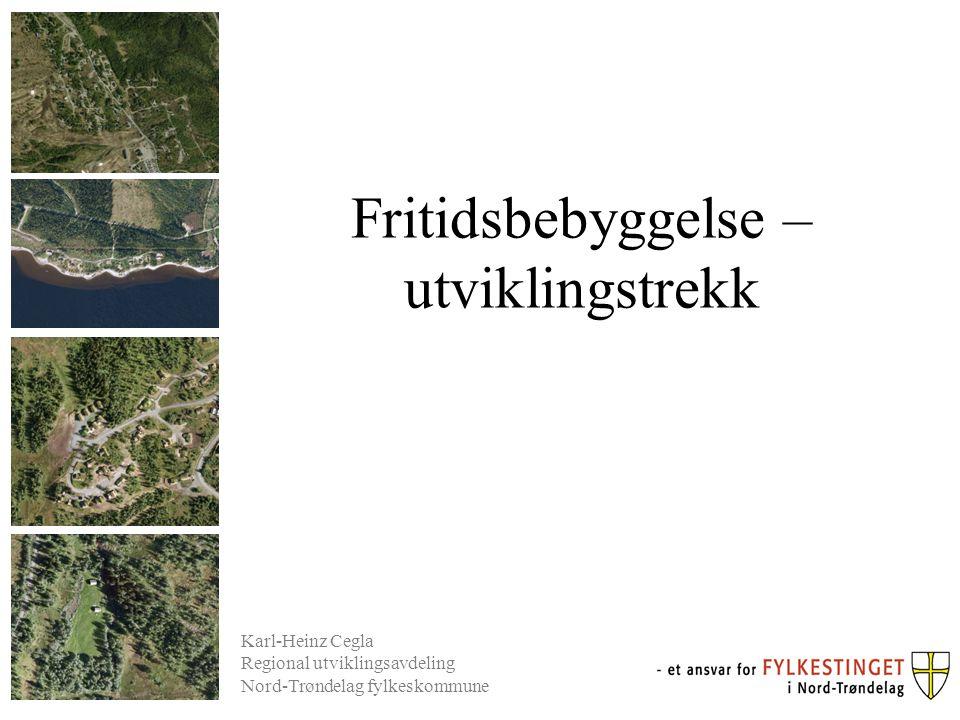 Antall fritidsbygninger per kvadratkilometer i 2012 0,77