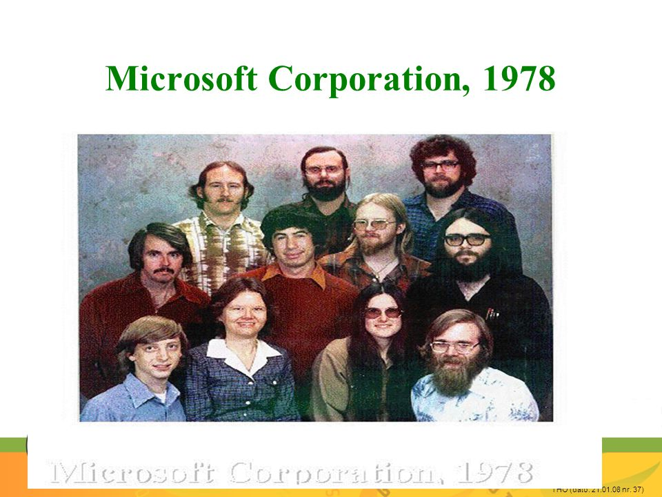 THO (dato: 21.01.08 nr. 37) Microsoft Corporation, 1978