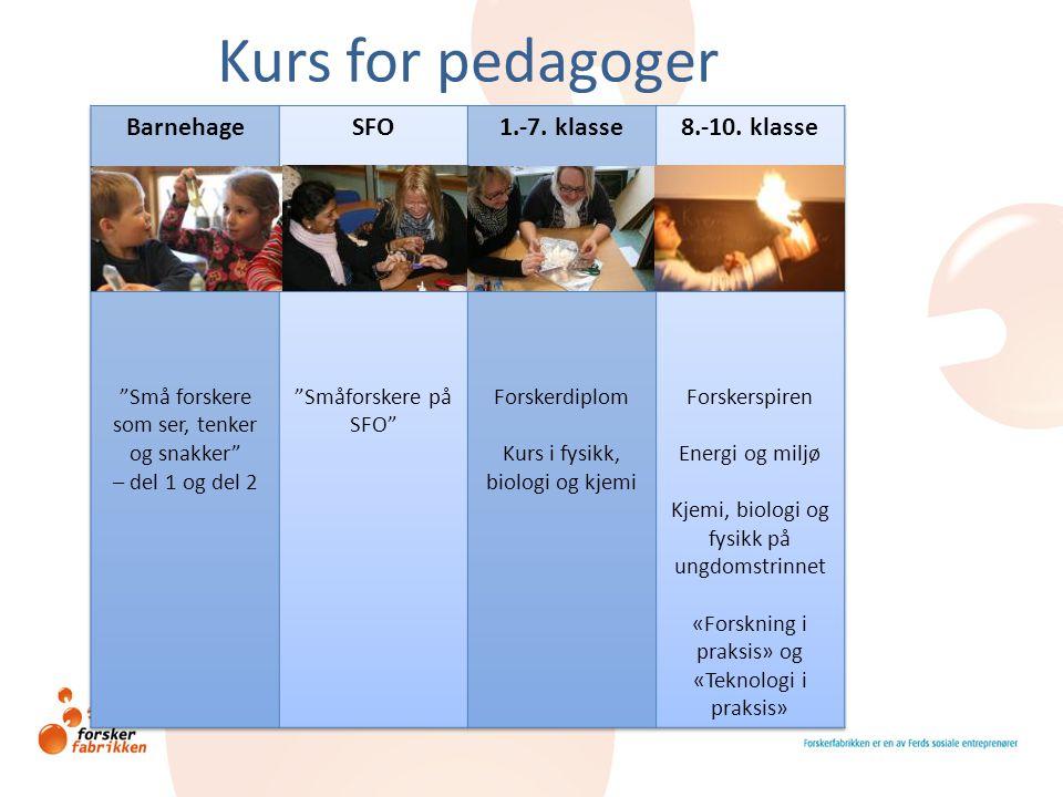 Kurs for pedagoger