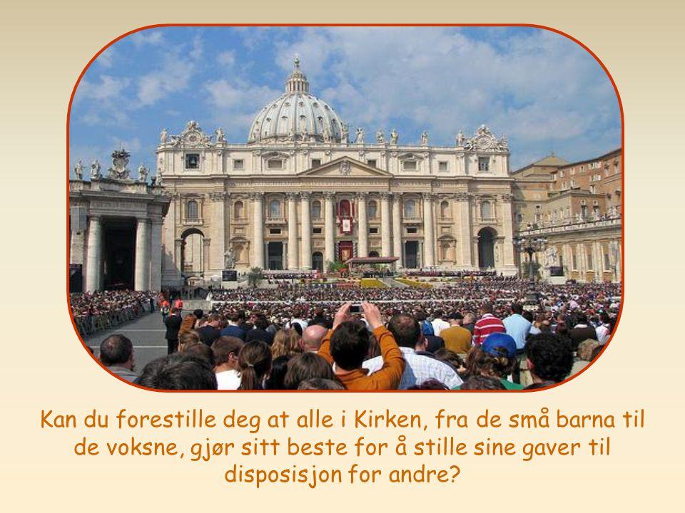 Tjen hvernadre, hver og en med den nådegave han har fått, som gode forvaltere av Guds mangfoldige nåde.