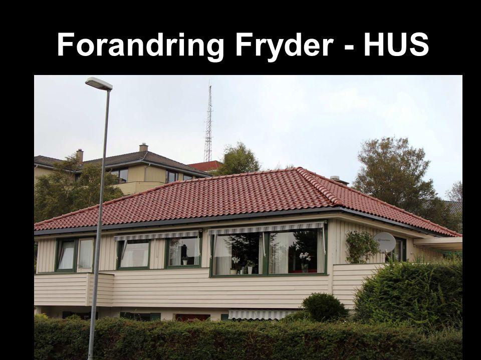 Forandring Fryder - HUS