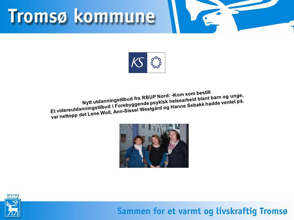 Nytt utdanningstilbud fra RBUP Nord: -Kom som bestilt Et videreutdanningstilbud i Forebyggende psykisk helsearbeid blant barn og unge, var nettopp det Lene Woll, Ann-Sissel Westgård og Hanne Sebakk hadde ventet på.