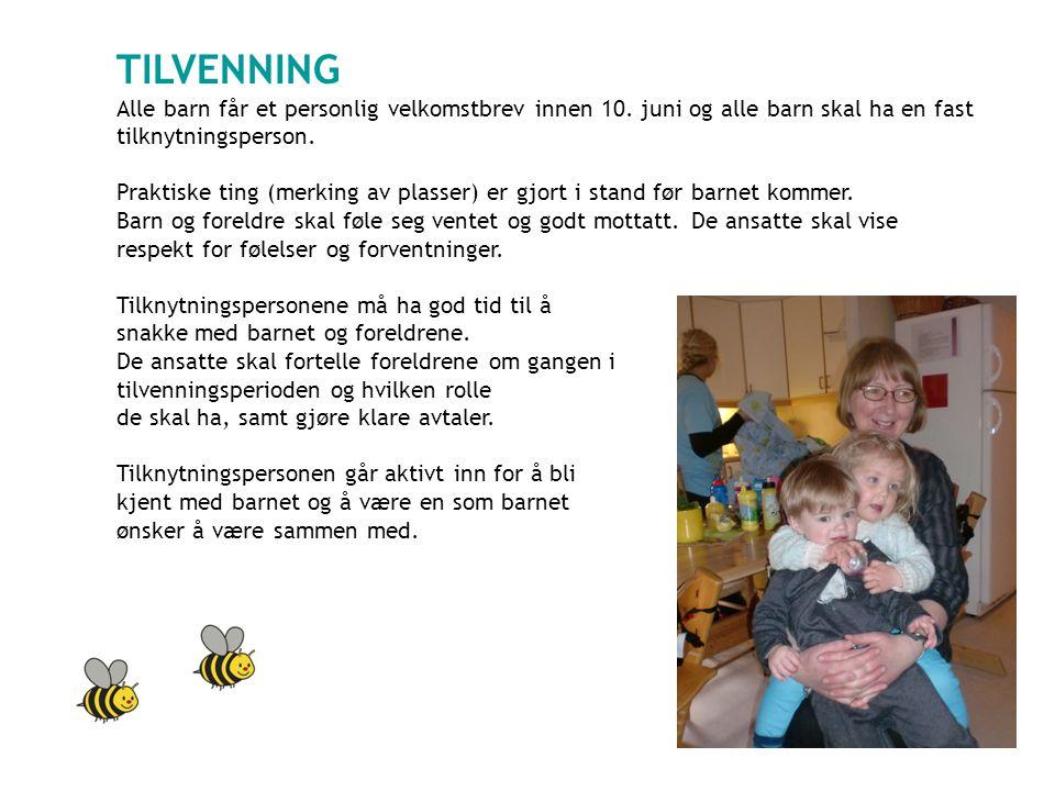 TILVENNING Alle barn får et personlig velkomstbrev innen 10.