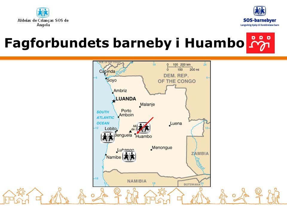 Fagforbundets barneby i Huambo