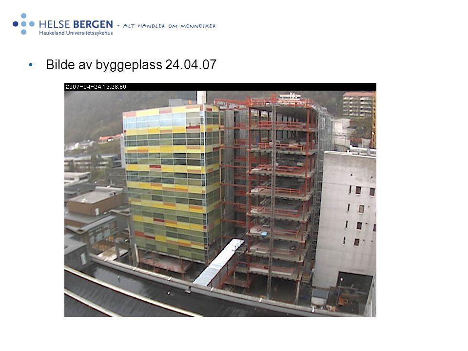 •Bilde av byggeplass 24.04.07