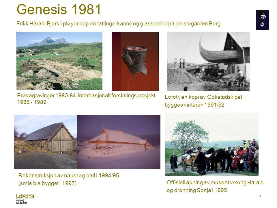 4 En suksessfaktor… …utenfor Tromsø i 1994