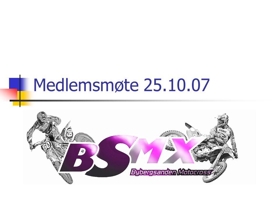 Medlemsmøte 25.10.07