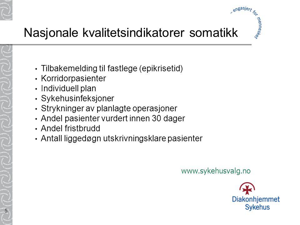 36 Sykehusnivå: Prosedyrer som er felles for flere avdelinger, eks.