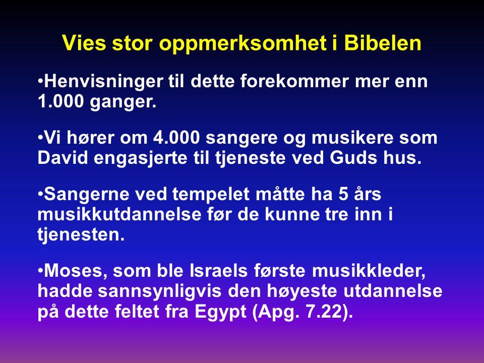 En snare for Israel Betatt av musikk og dans og fristet av de hedenske kvinnenes skjønnhet, vraket de troskapen mot Jehova.