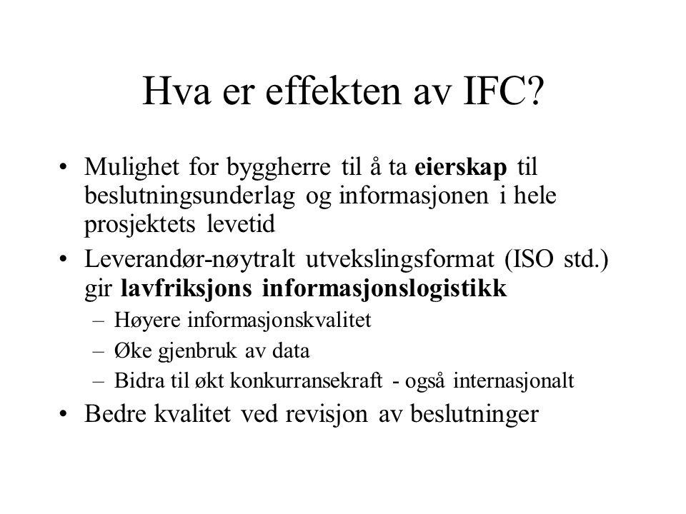 IFC Viewer IFC WallModificator Archicad AllPlan Autodesk ADT Solibri Model Checker Hus 6 på Munkerud er ett av 4 offisielle test case for Ifc2x sertifiseringen