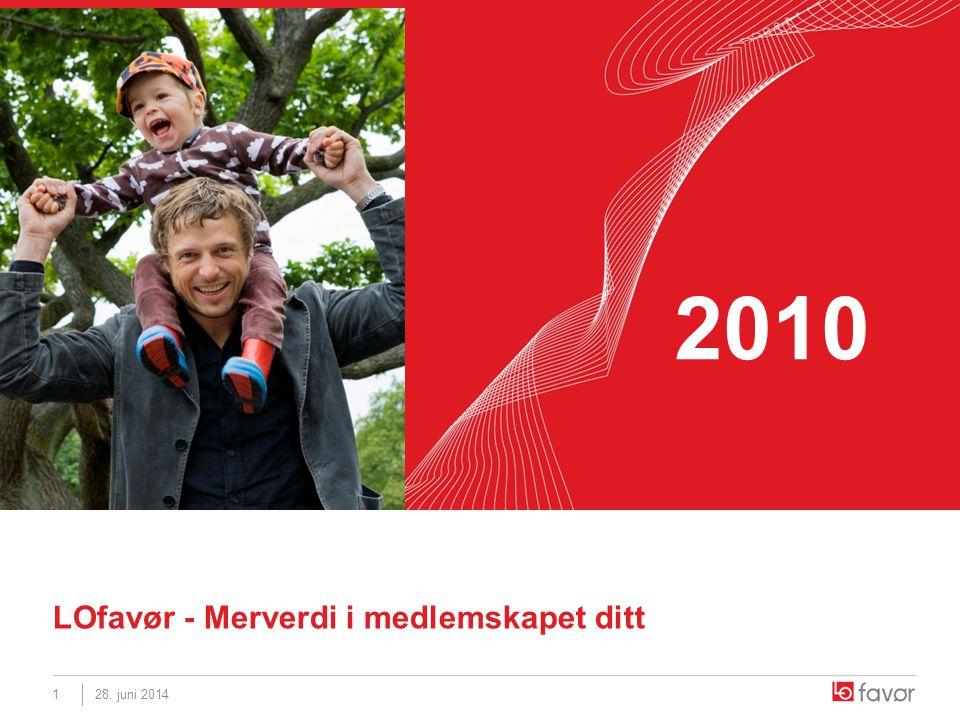 28. juni 20141 LOfavør - Merverdi i medlemskapet ditt 2010