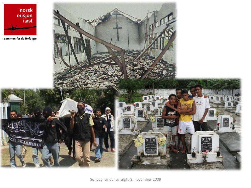 Bakgrunn En av de største tragediene i denne perioden skjedde på øygruppen Nord-Molukkene mellom år 2000 og 2003.