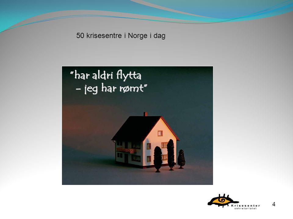 4 50 krisesentre i Norge i dag