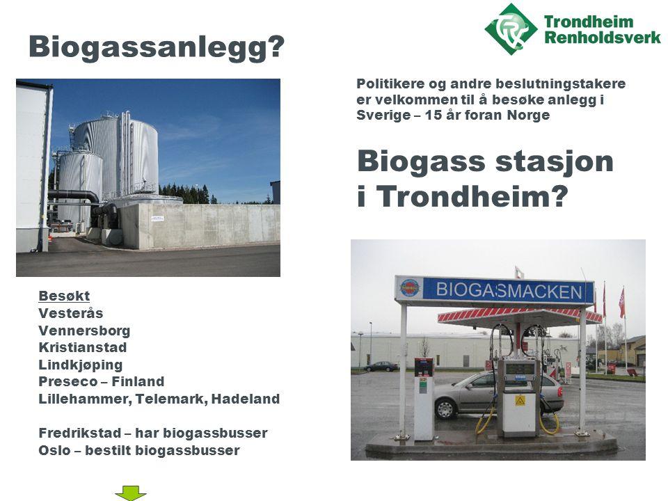 Biogassanlegg.
