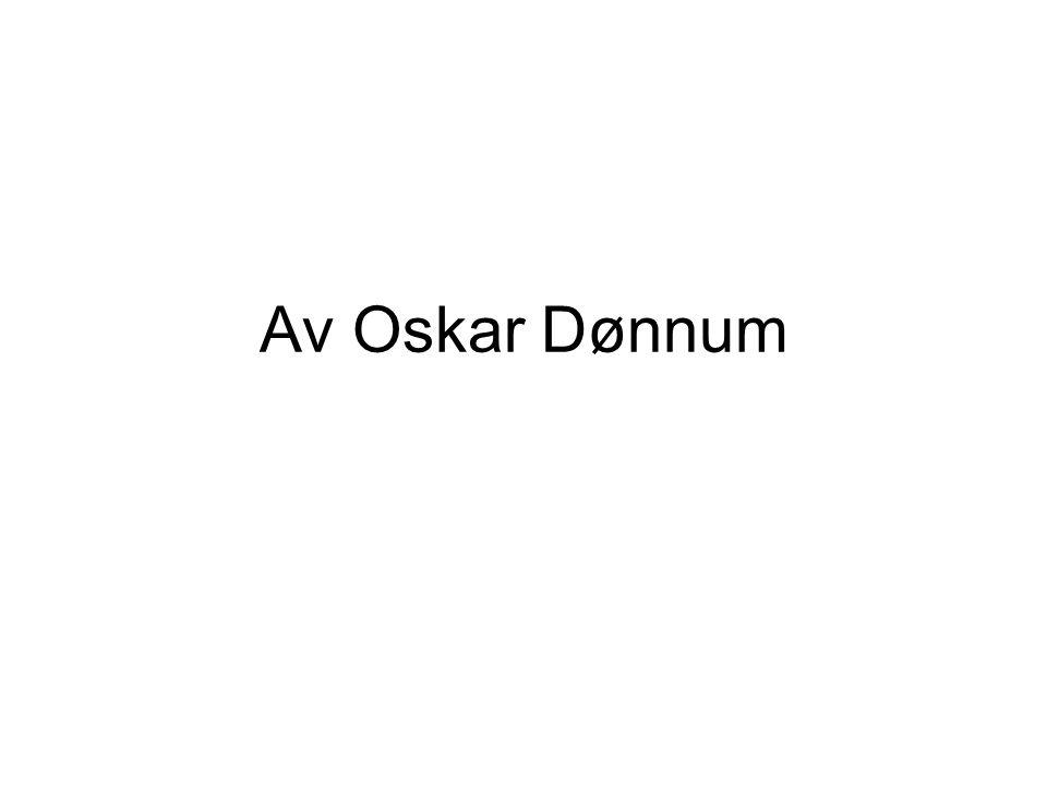 Av Oskar Dønnum
