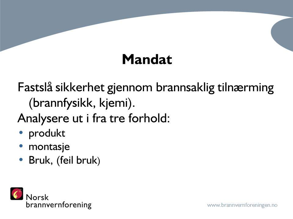 www.brannvernforeningen.no Mandat forts.