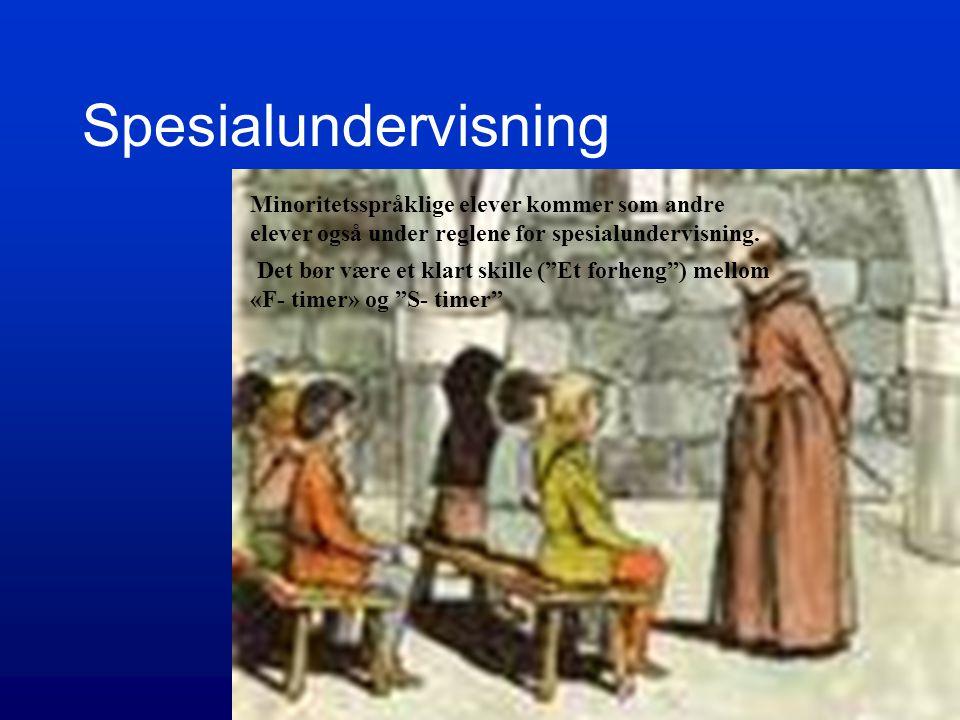 Kontroll Timer som faktisk brukes til særskilt norskopplæring og tospråklig fag/morsmålsopplæring skal telles ved alle skoler 1/10. Antall elever (med