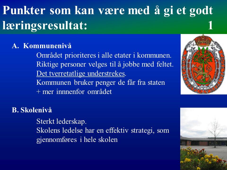 Nettverk, helhetstenkning og samarbeid «TPO-gruppa» ved Kosvik skole Spes.ped teamleder Sosiallærer