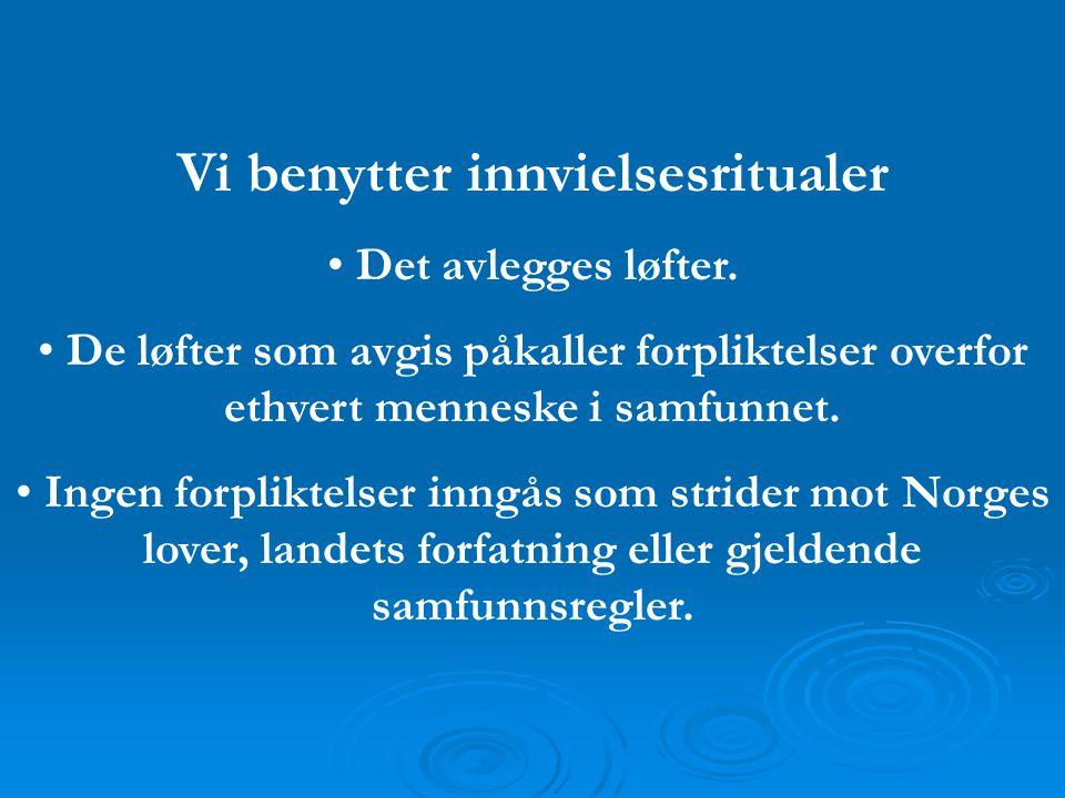 Vi har en tro i bunnen • Alle lukkede ordener i Norge har nedfelt et krav til sine medlemmer om tro.