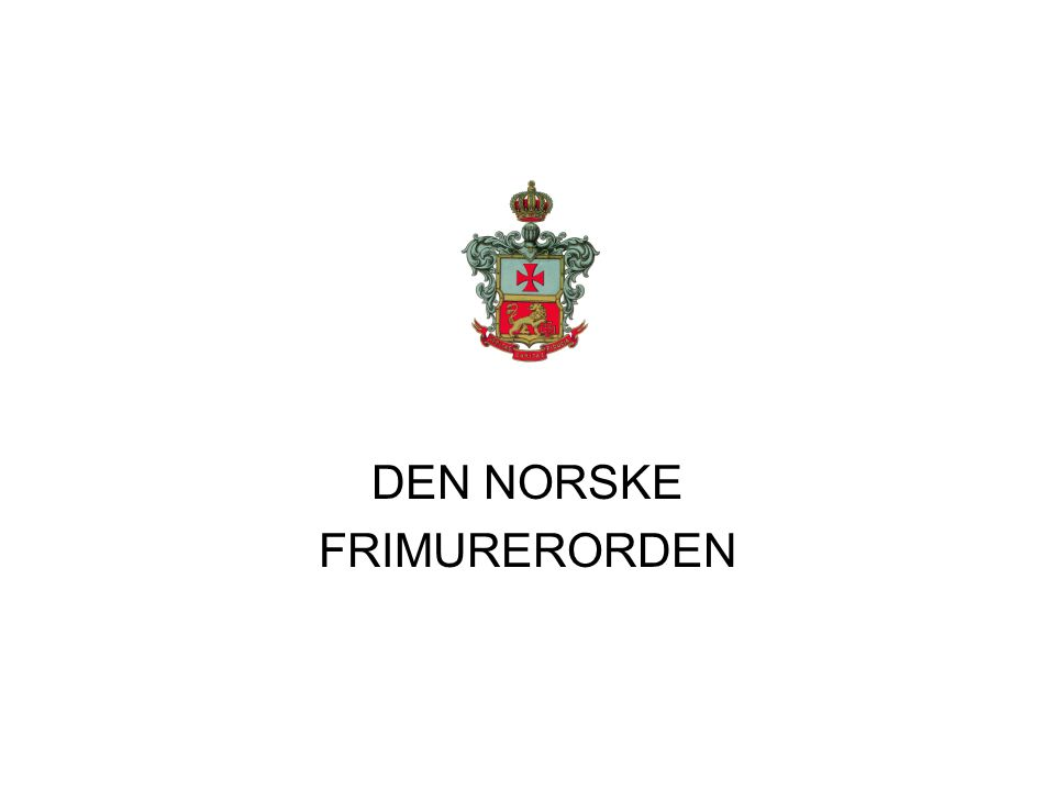 Ordenen Riddere av Det Hvite Kors kom fra Amerika til Norge.