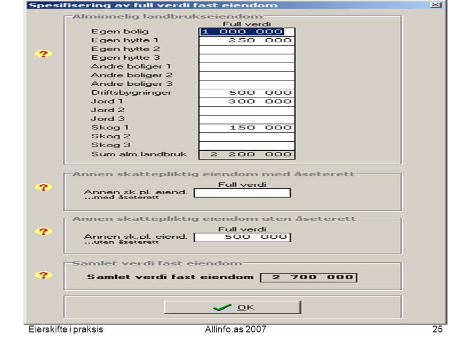 Eierskifte i praksisAllinfo.as 200725