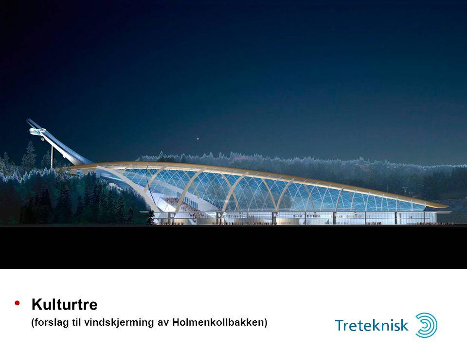 • Kulturtre (forslag til vindskjerming av Holmenkollbakken)