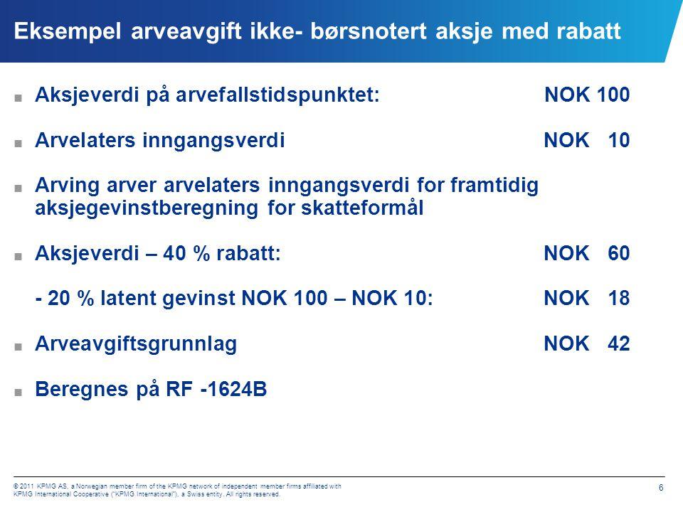 Kontaktdetaljer Torbjørn Dobbe +47 40 63 95 98 Torill Terese Lie +47 40 63 91 26 torbjorn.dobbe@kpmg.no torill.