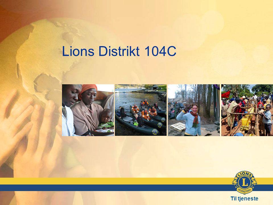 Til tjeneste Lions Distrikt 104C
