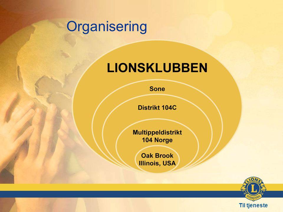 Til tjeneste Organisering
