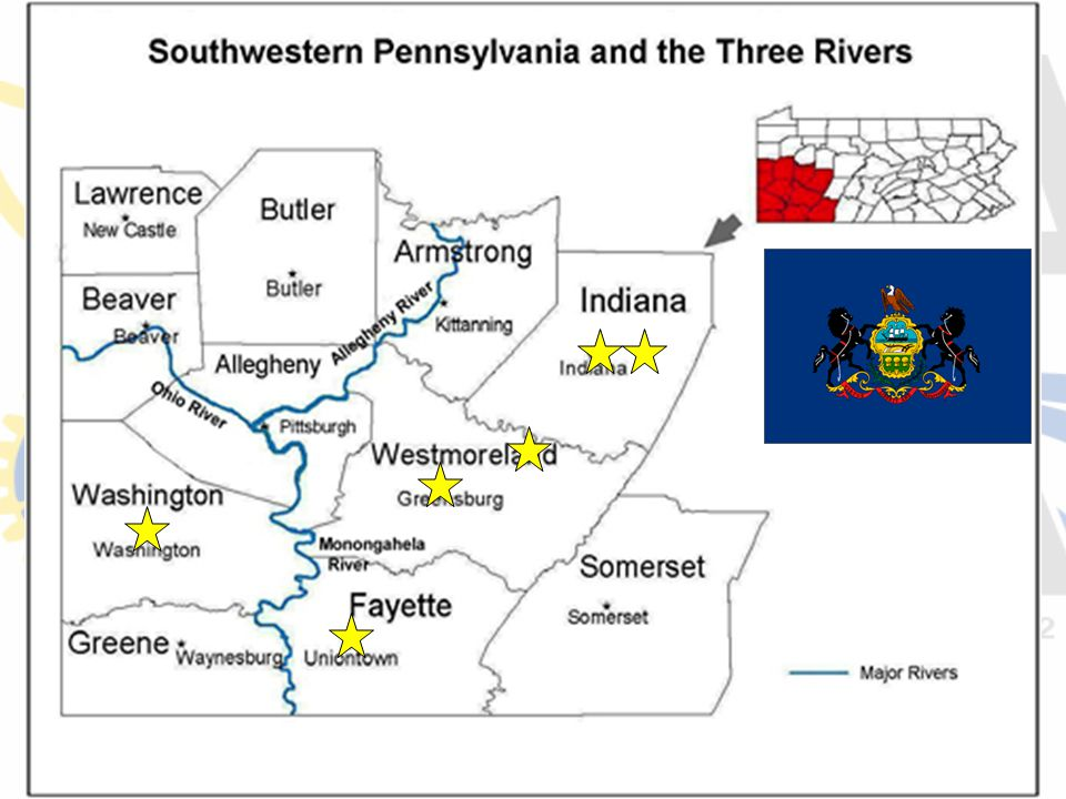 What industry was Southwestern Pennsylvania most well known for until the 1980s.