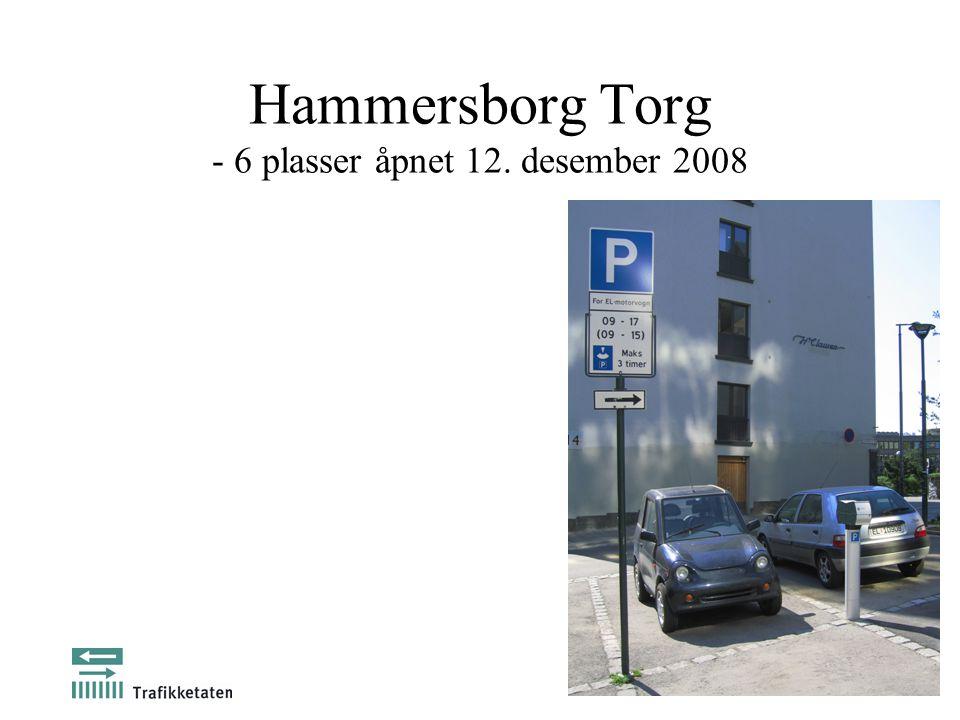 Hammersborg Torg - 6 plasser åpnet 12. desember 2008