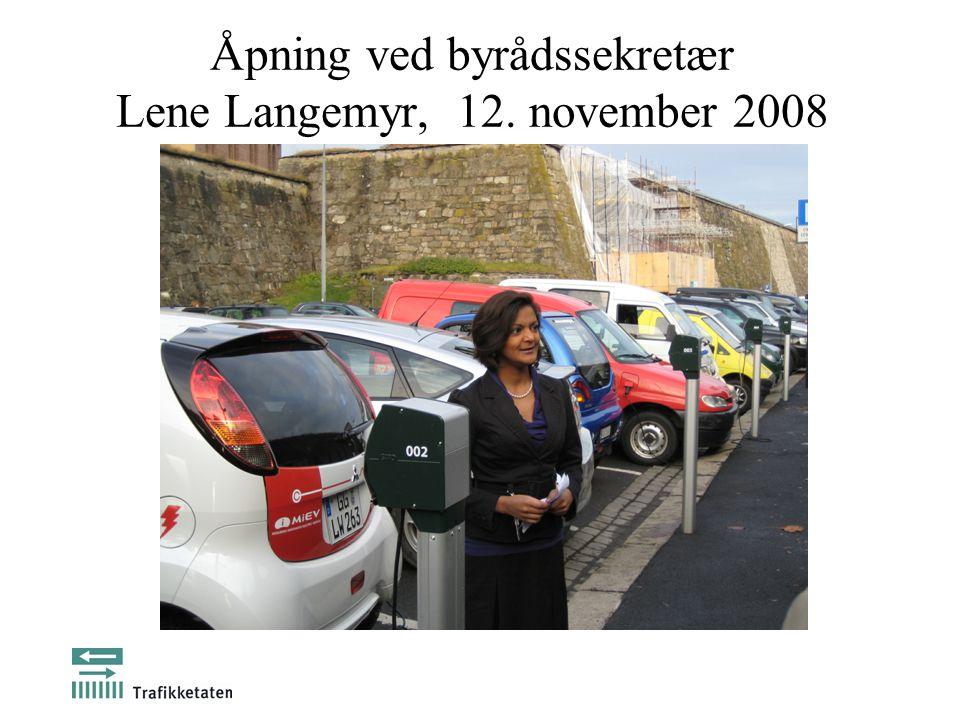 Åpning ved byrådssekretær Lene Langemyr, 12. november 2008