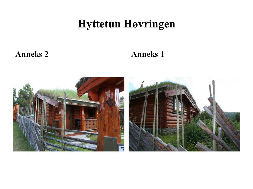 HovedhyttePort med bue + Anneks 2 Hyttetun Høvringen (sommer)