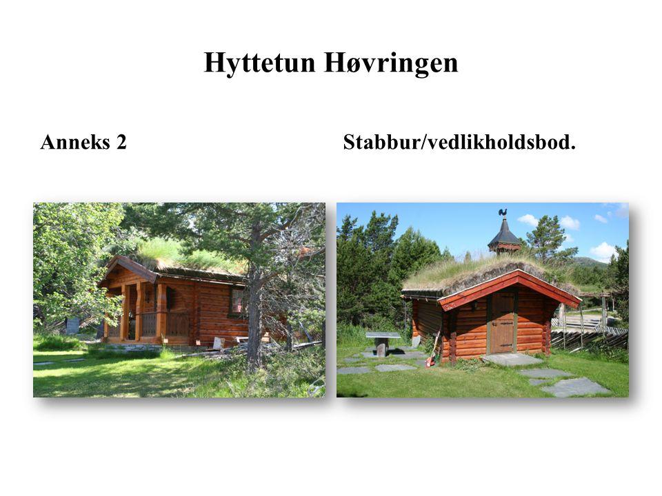 Hovedhytte/Anneks 2 og 3Port_inngang Hyttetun Høvringen