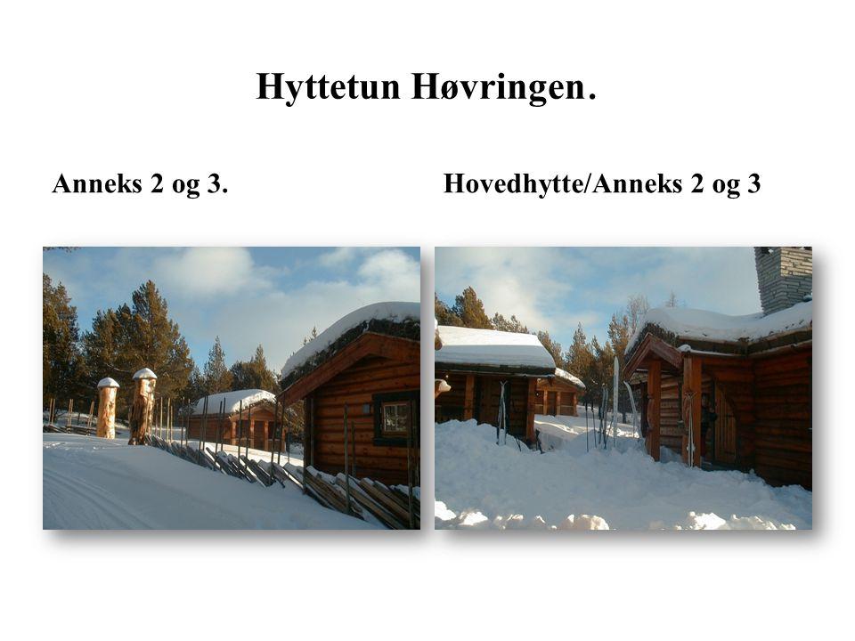 Anneks 2 og 3.Hovedhytte/Anneks 2 og 3 Hyttetun Høvringen.