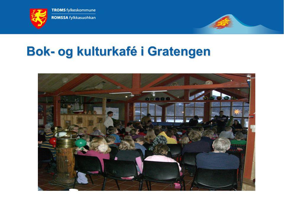 Bok- og kulturkafé i Gratengen I