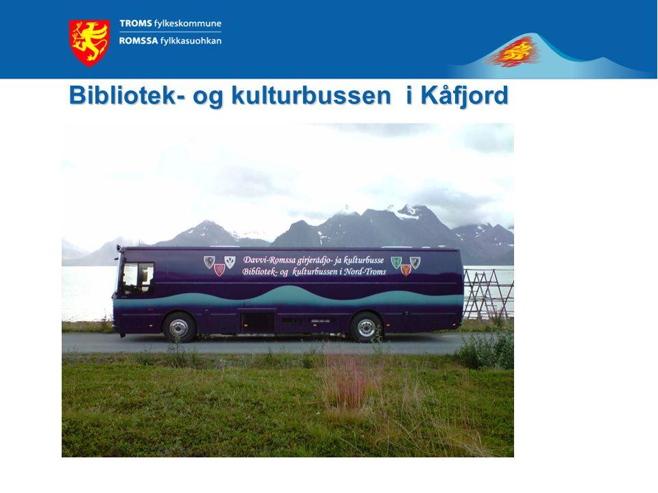 Bibliotek- og kulturbussen i Kåfjord