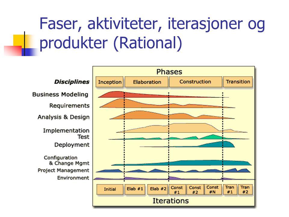6 Faser, aktiviteter, iterasjoner og produkter (Rational)