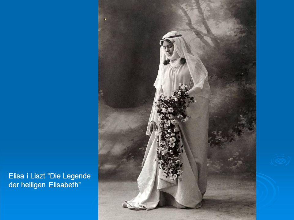 """Elisa i Liszt """"Die Legende der heiligen Elisabeth"""""""