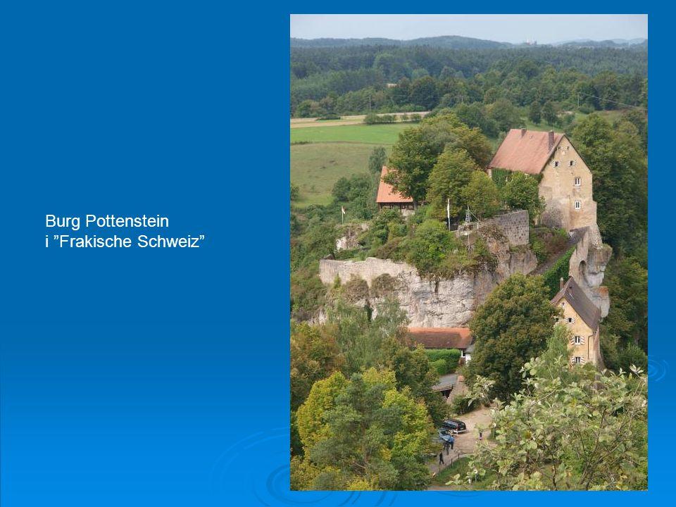 """Burg Pottenstein i """"Frakische Schweiz"""""""