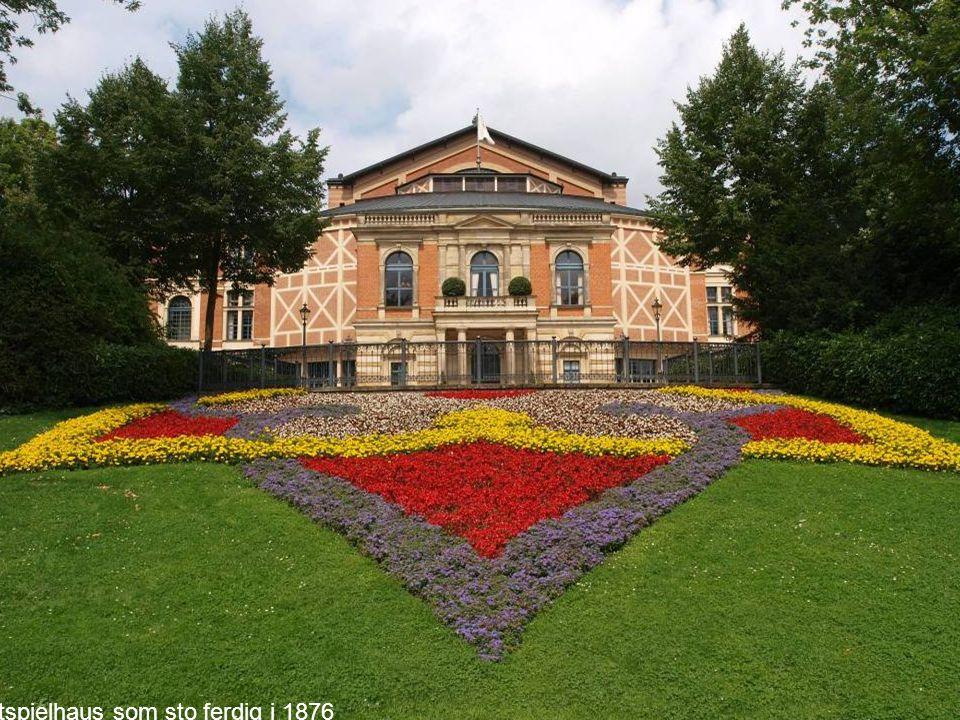 Festspielhaus som sto ferdig i 1876