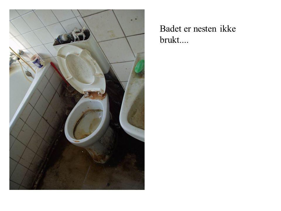 Badet er nesten ikke brukt....