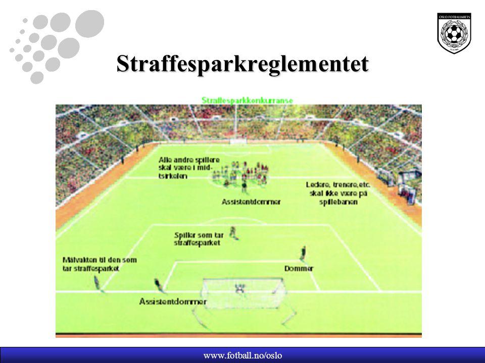www.fotball.no/oslo Straffesparkreglementet