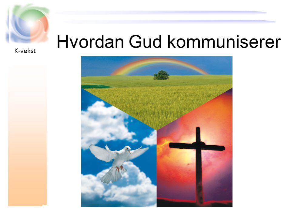 K-vekst Hvordan Gud kommuniserer