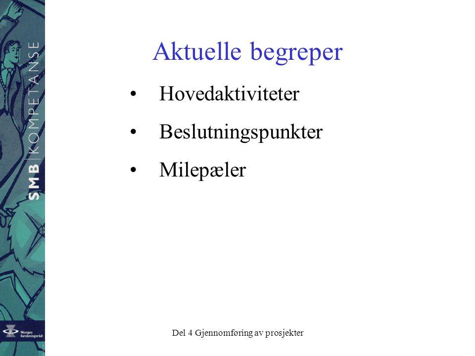 Del 4 Gjennomføring av prosjekter Norske ledere er flinke til å lage planer, men husker ikke hvor de har lagt dem .