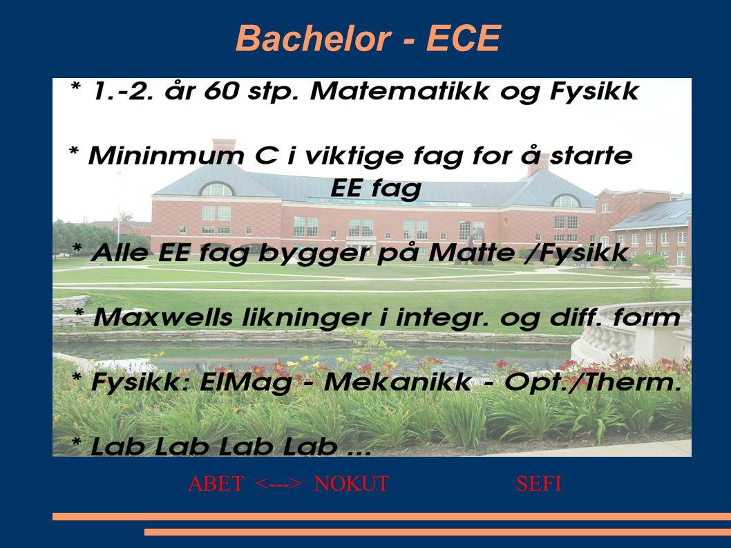 Bachelor - ECE