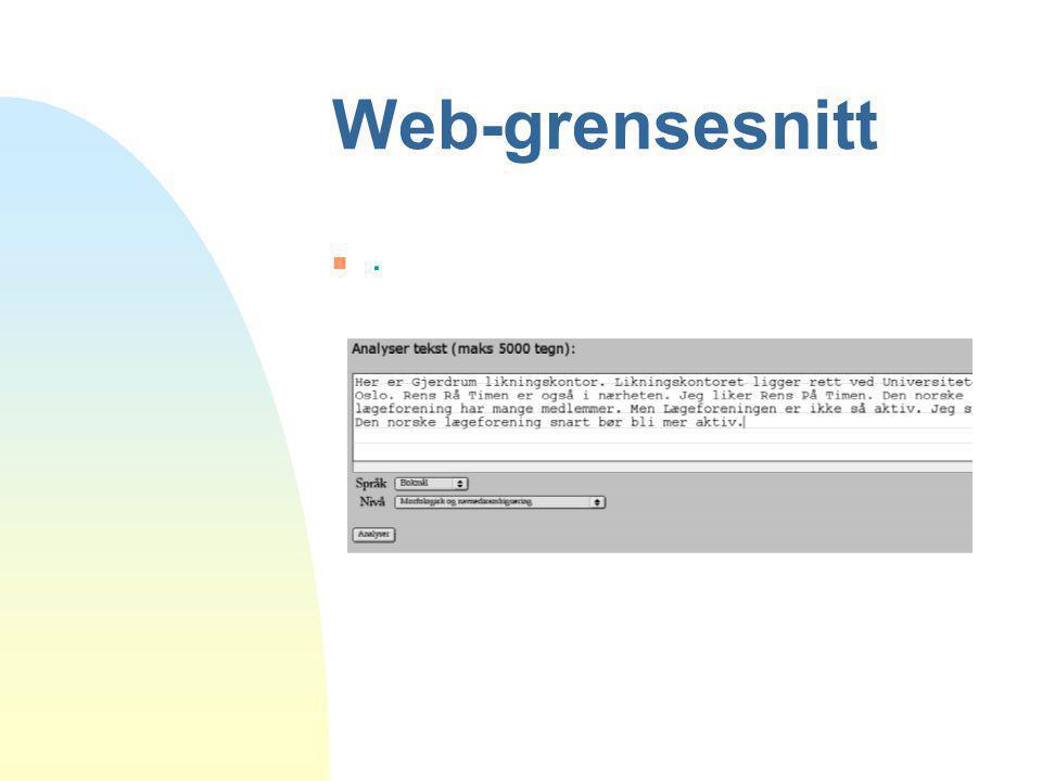 Web-grensesnitt n.n.