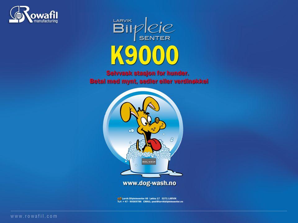 K9000 Dog Wash Tekniske spesifikasjoner K9000 Dog Wash Tekniske spesifikasjoner