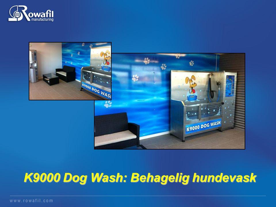 K9000 Dog Wash: Behagelig hundevask K9000 Dog Wash: Behagelig hundevask