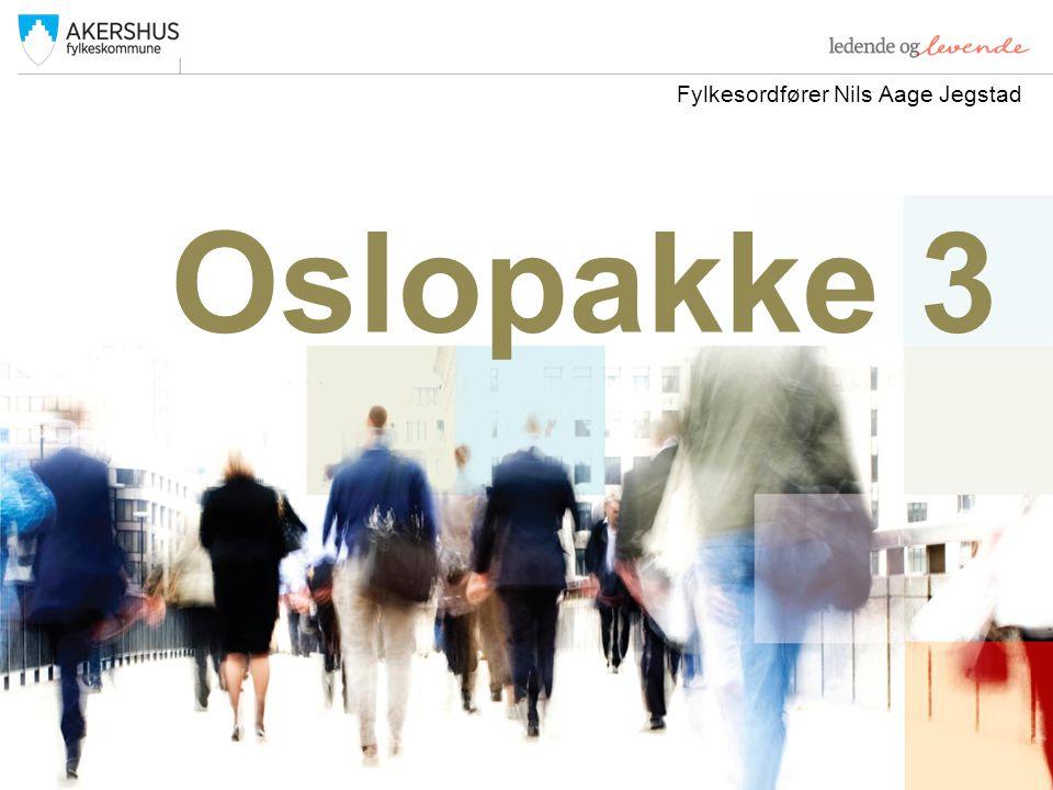 Oslopakke 3 Fylkesordfører Nils Aage Jegstad